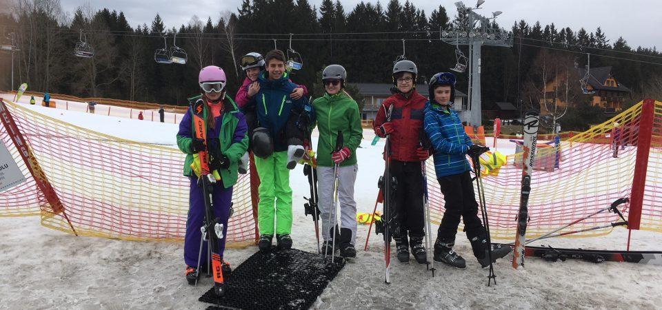 S Bočis na lyžích